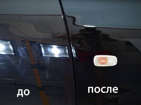 Покрытие авто жидким стеклом ДО и ПОСЛЕ